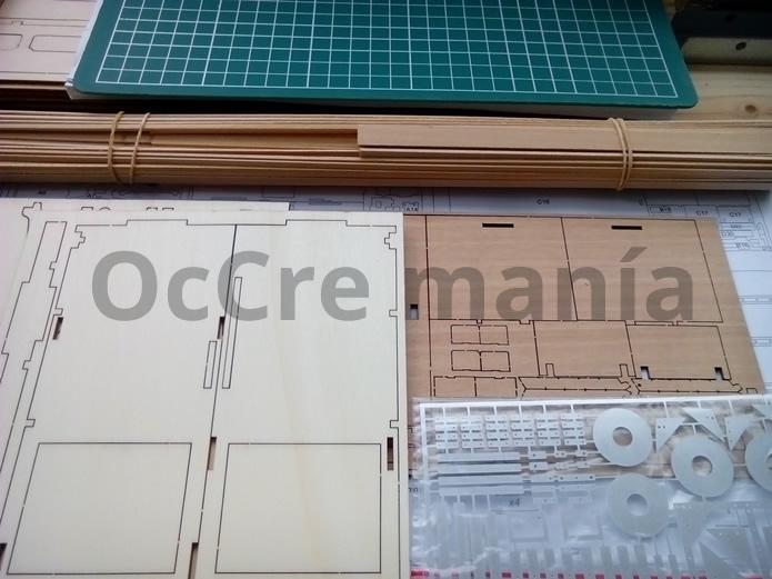 Contenido kit wagon OcCre