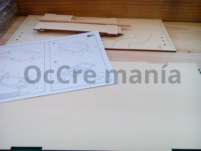 Bandeja mueble taller OcCre