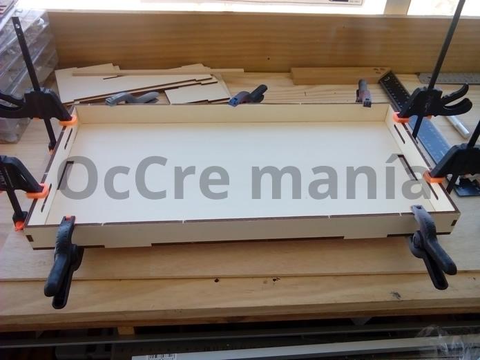 Bandeja taller OcCre terminada