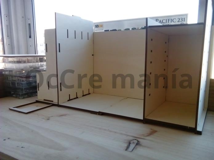 Presentamos la distribución del mueble taller OcCre
