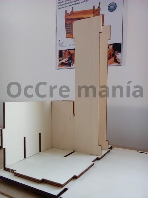 Separadores lateral izquierdo taller OcCre