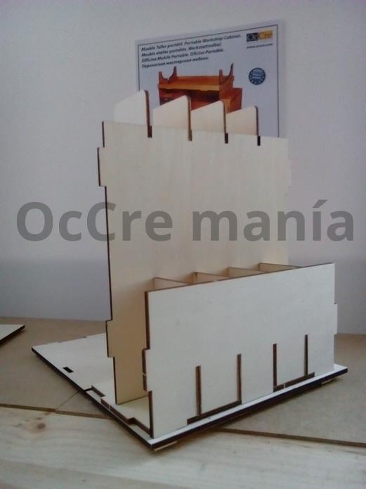 Separación de los separadores taller OcCre