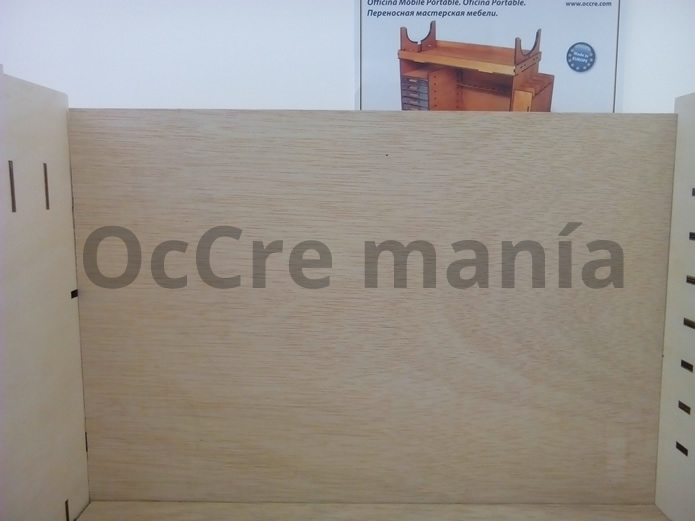 Pared posterior terminada taller OcCre
