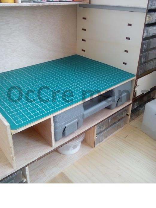 Ampliación mueble taller