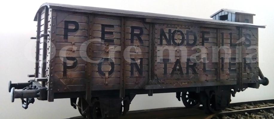 Wagon. Versión francesa.
